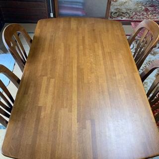 【早い者勝ち】楢木 ダイニングテーブル