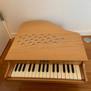 カワイ ミニピアノ P-32(木目)  日本製