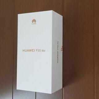【新品未使用】HUAWEI P30 light フリーSIM