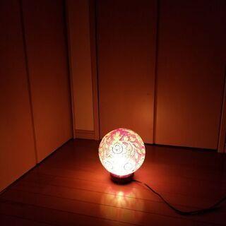雰囲気あるランプ