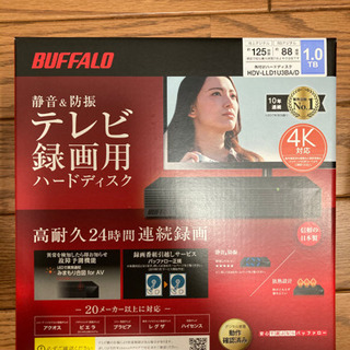 BUFFALO HDD HDV-LLD1U3BA 1TB