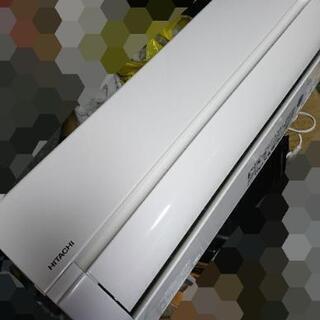 美品激安☆2018年製 日立 エアコン 4.0kw 白くま…