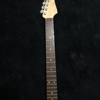 ギターネック 虎杢入りバーズアイ 国産工房製