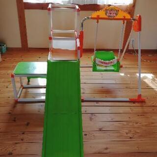 室内ジャングルジム「キッズパーク」ブランコ 滑り台 鉄棒 …