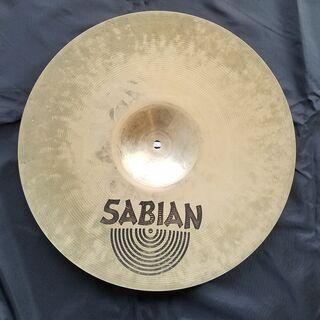"SABIAN セイビアン AA ROCK CRASH シンバル【16""/41cm】ジャンク品 直径 41cm 16インチ ドラム - 楽器"