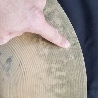 "SABIAN セイビアン AA ROCK CRASH シンバル【16""/41cm】ジャンク品 直径 41cm 16インチ ドラム − 千葉県"