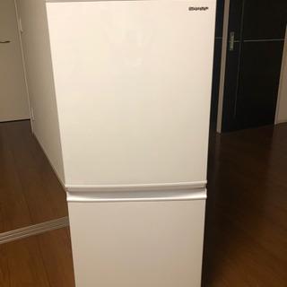 SHARP 冷蔵庫 137L 2020年製