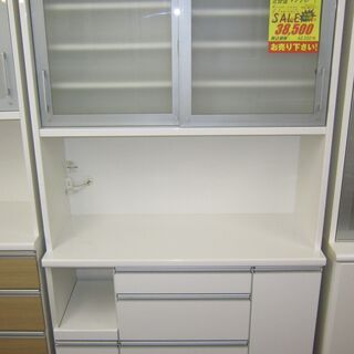 R051 松田家具 食器棚・レンジボード・キッチンボード 幅11...