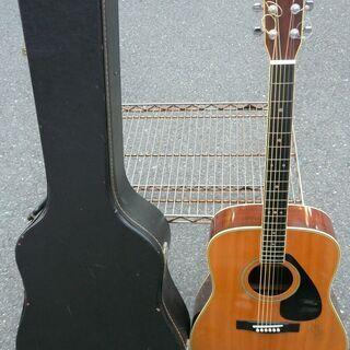 ☆ヤマハ YAMAHA FG-350D アコースティックギター 弾き語りに◆ケース付き・ジャパンビンテージギターの画像