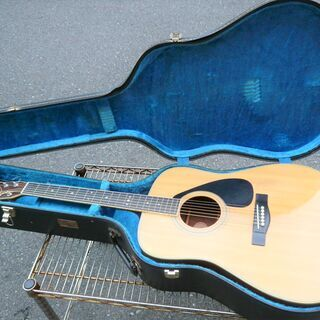 ☆ヤマハ YAMAHA FG-350D アコースティックギター 弾き語りに◆ケース付き・ジャパンビンテージギター - 横浜市