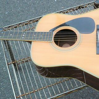 ☆ヤマハ YAMAHA FG-350D アコースティックギター 弾き語りに◆ケース付き・ジャパンビンテージギター − 神奈川県