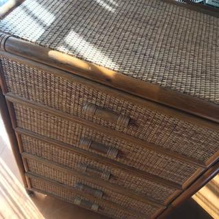 籐のタンス  藤のタンス レトロ  - 家具