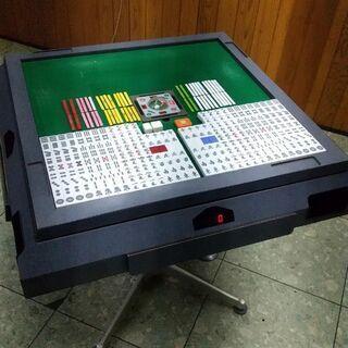 【ネット決済】全自動麻雀卓 雀豪ドーム AM-9401A型 リー...