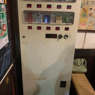 レトロなタバコ自販機
