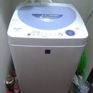 SHARP洗濯機 4.5kg 2004年製