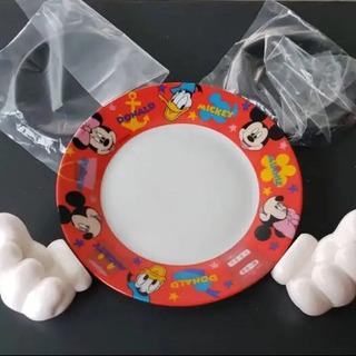 ミッキーマウス 手作り絵皿 第一生命