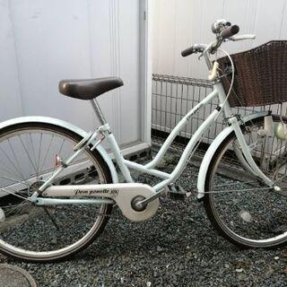 アサヒ 子供用自転車 ポンポネットジュニアコラボモデル 薄水色 ...