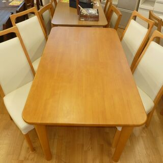 k29☆ダイニングテーブル5点セット☆テーブル+椅子4脚☆幅14...