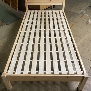 無印良品 シングル サイズ ベッドフレーム 六角 ドライバー 不要 簡単組み立て ベッド 無印 - 中央区