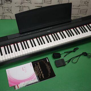 美品 YAMAHA ヤマハ 電子ピアノ P-115B Pシ…