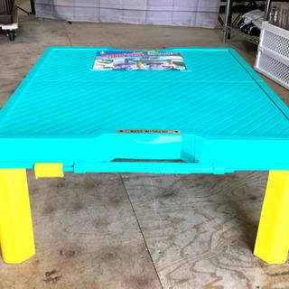 折り畳み レジャーテーブル ♪美品♪ c-10262