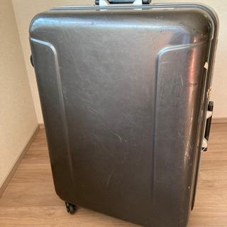 500円 中古スーツケース