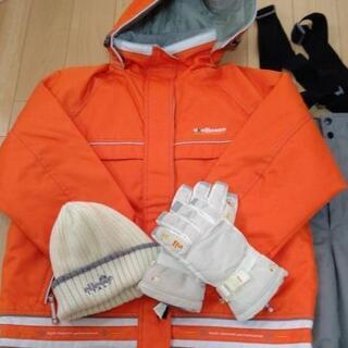 ellesse  レディース  【M】スキーウェアー上下【手袋、...