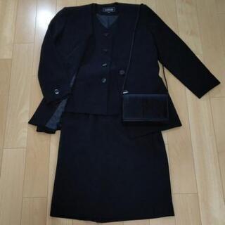 『再々値引』【東京ソワール】フォーマルスーツ(M)  (鞄付)4...