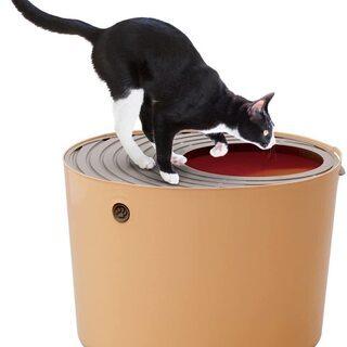猫トイレ 飛び散らない 上から(完全未使用)