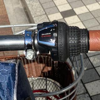 折りたたみ自転車(6段ギア)