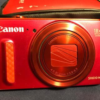 デジカメ PowerShot SX610 ケース付き