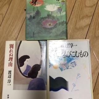 【ネット決済】渡辺淳一 3冊セット