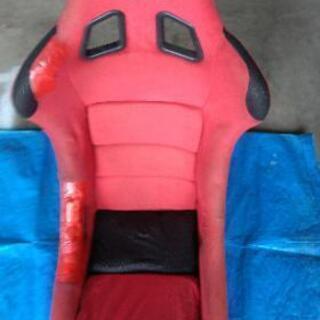 スパルコReV  フルバケットシート 赤