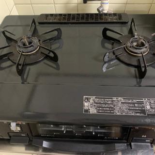 冷蔵庫、洗濯機、ガスコンロ(都市ガス)セット【引き取り限定⠀】 - 売ります・あげます