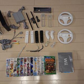 Wii 本体2台! ソフト多数! みんなで遊べるセット