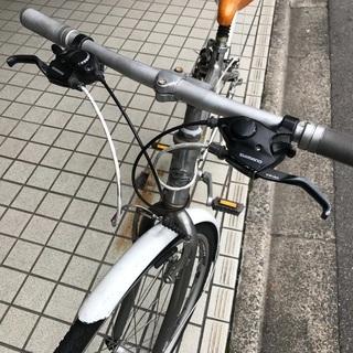 ジャイアントクロスバイク/cross3200/GIANT/17インチ/24変速/43cm/M - 京都市