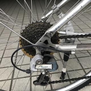 ジャイアントクロスバイク/cross3200/GIANT/17インチ/24変速/43cm/M − 京都府