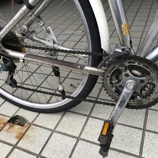 ジャイアントクロスバイク/cross3200/GIANT/17インチ/24変速/43cm/M - 自転車