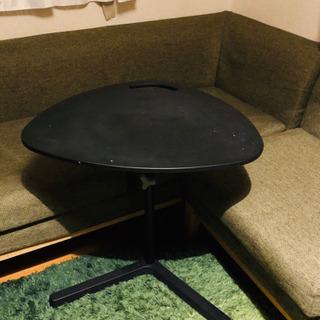 サイドテーブル 高さ調整可能 ベッド横 ソファに