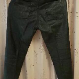 値下げ💴⤵️本革ズボン