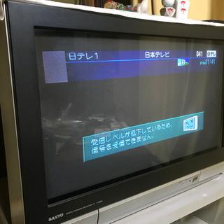 最終処分 サンヨー デジタルテレビ C-28DT2 SD画質
