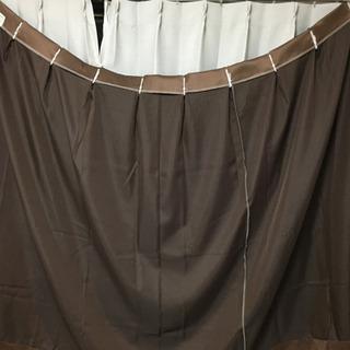 カーテン 150cm幅 本体+レース2枚ずつセット