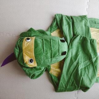 ハロウィン衣装  恐竜?怪獣? 不織布