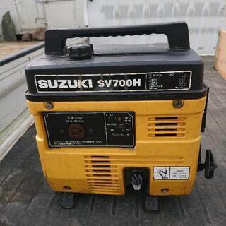 中古 スズキ ポータブル発電機