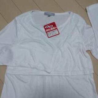 新品未使用 産前産後 授乳機能付き 長袖Tシャツ