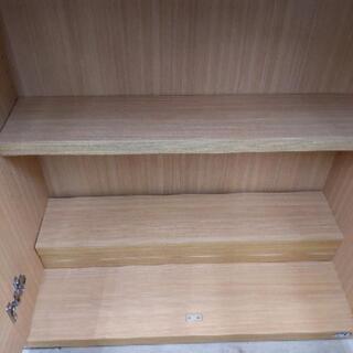 【値下げ】moco フナモコ  収納棚  本棚 カップボード 77×32×180cm 1027-01 - 家具