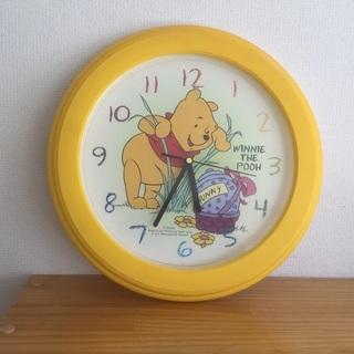 クマのプーさん掛け時計