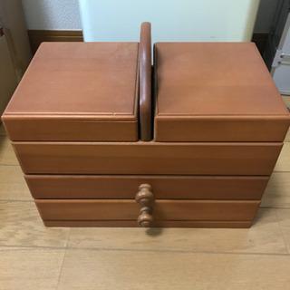 【ネット決済】裁縫箱 ソーイングボックス