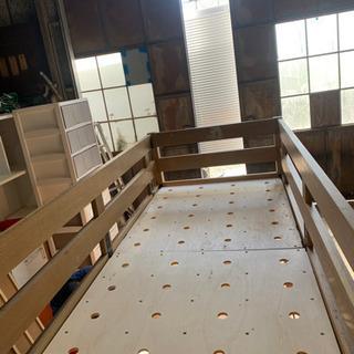 二階ベッドー - 家具