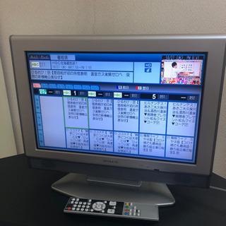 【美品】ATHLETE 液晶テレビ 19型 PC入力端子有